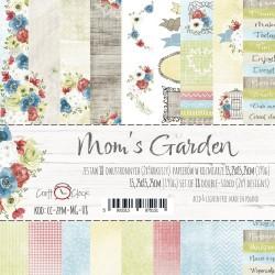 MOM'S GARDEN - zestaw papierów 15,25x15,25cm