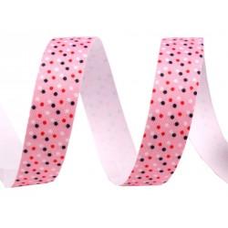 Taśma samoprzylepna różowa jasna 15 mm