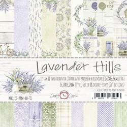 LAVENDER HILLS - ZESTAW PAPIERÓW 15,25X15,25CM