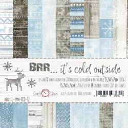 BRR... IT'S COLD OUTSIDE - ZESTAW PAPIERÓW 15,25X15,25CM