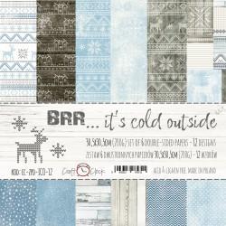 BRR... IT'S COLD OUTSIDE - ZESTAW PAPIERÓW 30,5X30,5CM