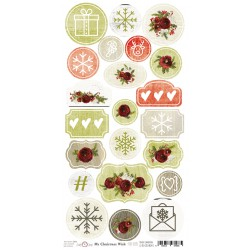 MY CHRISTMAS WISH - ARKUSZ DIE - CUTS
