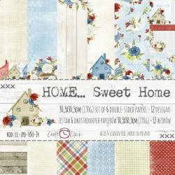 HOME ...SWEET HOME - Zestaw Papierów 30x30cm