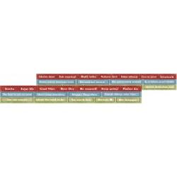 RETRO VIBES - zestaw NAPISY - DIE - CUTS
