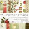 HERITAGE STORIES - zestaw papierów 15,25x15,25cm