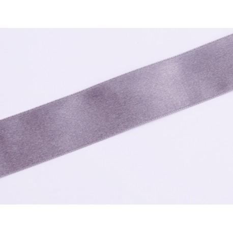 Tasiemka Satynowa - stalowa 25mm 1mb