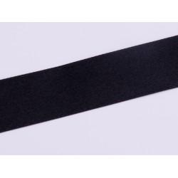 Tasiemka Satynowa - czerna 25mm 1mb
