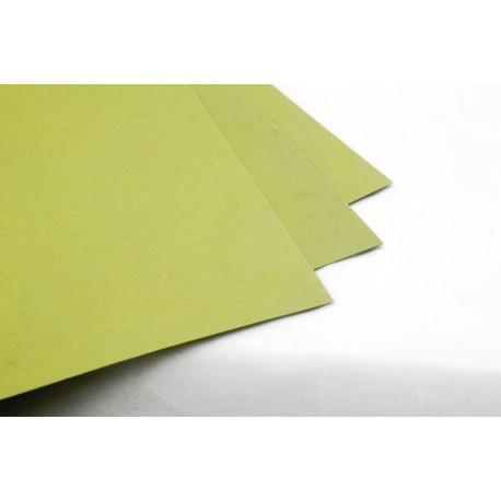 Papier czerpany - ZIELONY 260g