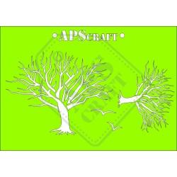 Maska - drzewo