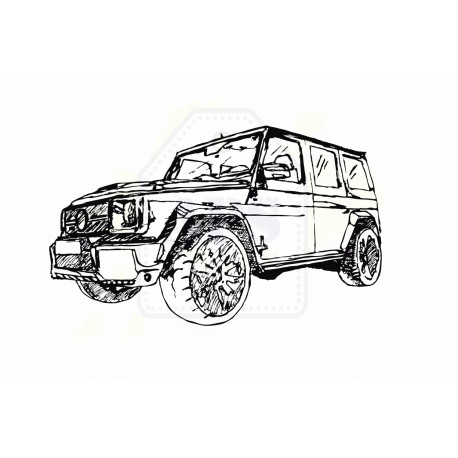 DIGIstepmel - samochód terenowy