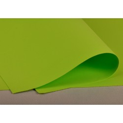 Foamiran - zielone jabłuszko
