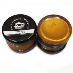 Pasta woskowa SeeArt 20 ml. metal złoto królewskie