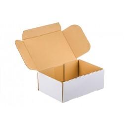 karton fasonowy 20x15x8cm 380g biały