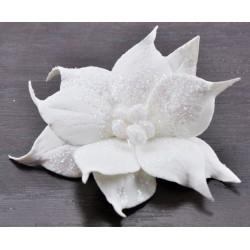Poisencja 2,5cm biała
