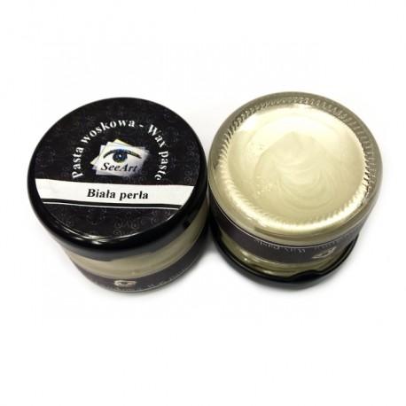 Pasta woskowa SeeArt 20 ml. Biała perła