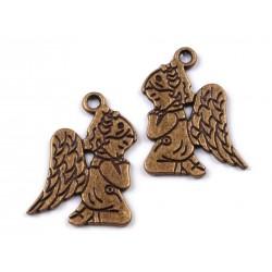 Zawieszka klęczący aniołek 2