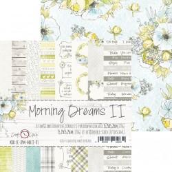 MORNING DREAMS II - ZESTAW PAPIERÓW 15,25X15,25CM