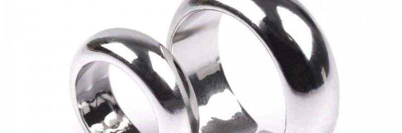 Obrączki srebrne