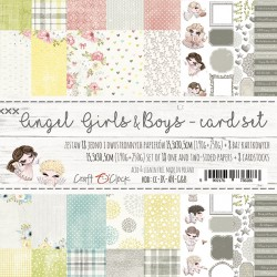 ANGEL GIRLS&BOYS - CARD SET - ZESTAW KARTKOWY