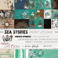SEA STORIES - ZESTAW KART DO PROJECT LIFE