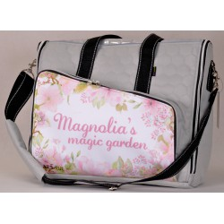 Torba szara jasna - Magnolia's magic garden